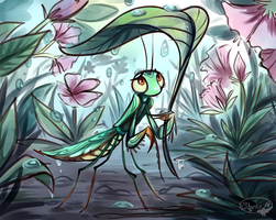 Mantis 2 by sharkie19
