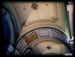 GPO Arches Detail by sarkastik