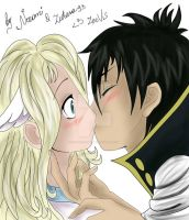 Zeref and Mavis - Because I Love You... by zutara240993