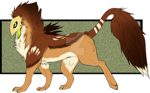 New charrie possibly/ new species by Wolfvids