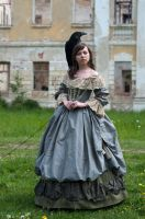 Girl With Raven by ann-emerald-stock