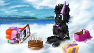 Happy birthday Thund3r-Bolt by SkorpionLetun