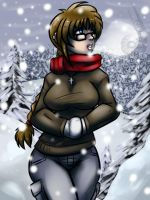 Commission- Kyoko Winter 1 by Barrin84