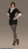 RE6 Business Ada Wong V2.0 (Re-Updated 3) by bstylez