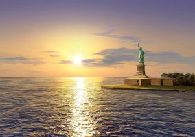 MISS LIBERTY by illugraphy