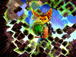Ratchet and Clank : Ready to Kick Some Asteroid by BahamutAXIOM