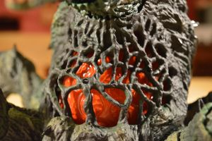S.H Monsterarts - Biollante (6/10) Her Heart by GIGAN05