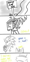 Short Sonamy Comic - A Letter from Amy Rose Part 1 by P-SamyClariettaNL
