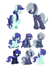 MLP Breedable Adopts [Open] by StarlightRaven14