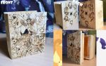 Pyrography: My little pony wooden box by NpegasisterO