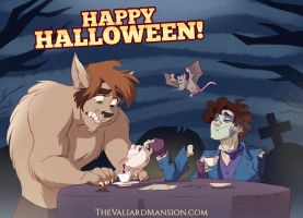 HAPPY HALLOWEEN from the Valiard Boys! by The-Ez