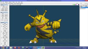 Electabuzz Model papercraft by javierini