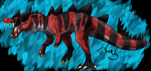 Krookodile- Kaprosuchus Inspired by T-Reqs