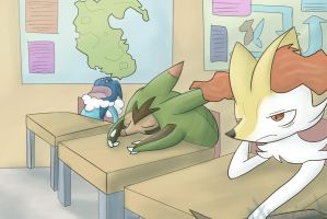 Just Another Class - Pokeumans by xXunovianXx