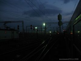 Through the freight yard by mureseanu976
