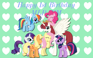 MLP Birthday Wishes WP by AliceHumanSacrifice0