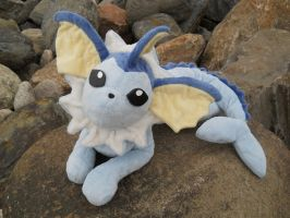 Vaporeon plush by HedaMiu