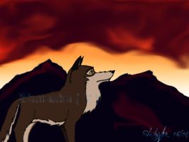 Balto night by ShalaskaLuna
