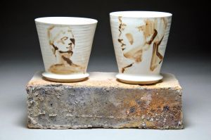 Figure Study Cups by APDeeman
