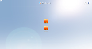 Windows 8 Logon Concept by dejco