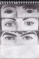 Eyes of The Beatles by NastGraf