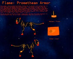 Flame: Promethean Armor by Dragon-of-DC