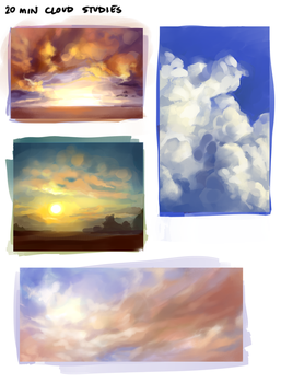 more clouds by fralea