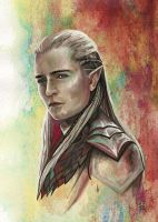 Prince of Mirkwood - Legolas Greenleaf by Grunnet