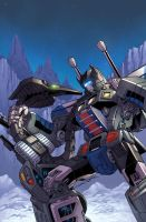 TFcon 2011 comic cover by markerguru