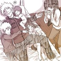 When Naruto keeps his children by nikky93