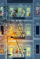 New York Stories by PascalCampion