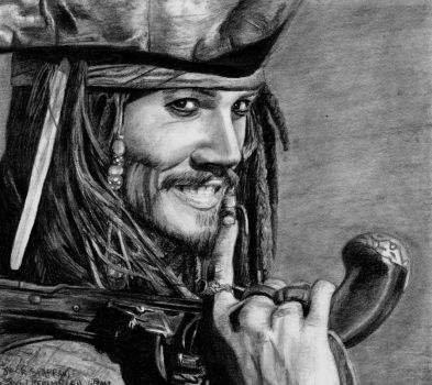 Captain Jack Sparrow 09 by AinuLaire