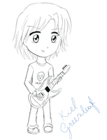 Sketch: Random Chibi by KielGreenleaf