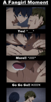 Free! - A Fangirl Moment by Rini-chi