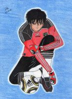 Daisuke plays for Germany by Lily-de-Wakabayashi