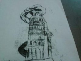 Leaning tower by MJSstudio