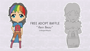 Free Adopt Raffle #1 [CLOSED] by Linkage-Adopts