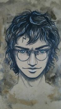Harry Potter by LazyMori