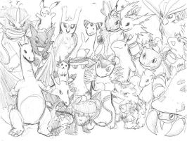 Pokemon out the wazoo by jameson9101322