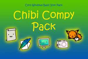 Chibi Compy Icon Pack by cynicalhiei