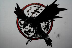 el cuervo / the crow by atramento-negro