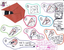 Wayward V. or Aimless R. Origami Instructions! by JASPERSISAWESOME