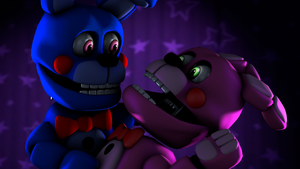[FNAF SFM] Bon Bon and Bonnet by MangoISeI