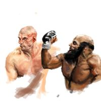 fighters sketch by vegas9879