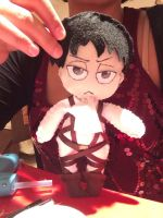 Levi Plushie Front by SmexyLeviLover
