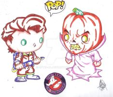 FUNKO POP REAL GHOSTBUSTERS #2 by Optic-AL