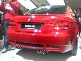 SIAB 07 - New BMW M3 Rear by AxelSilverwolf