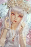white snake princess by prettyinplastic