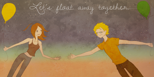 Let's float away together by OcularFracture