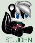 SonicPlushieCollection:St.John by WingedHippocampus